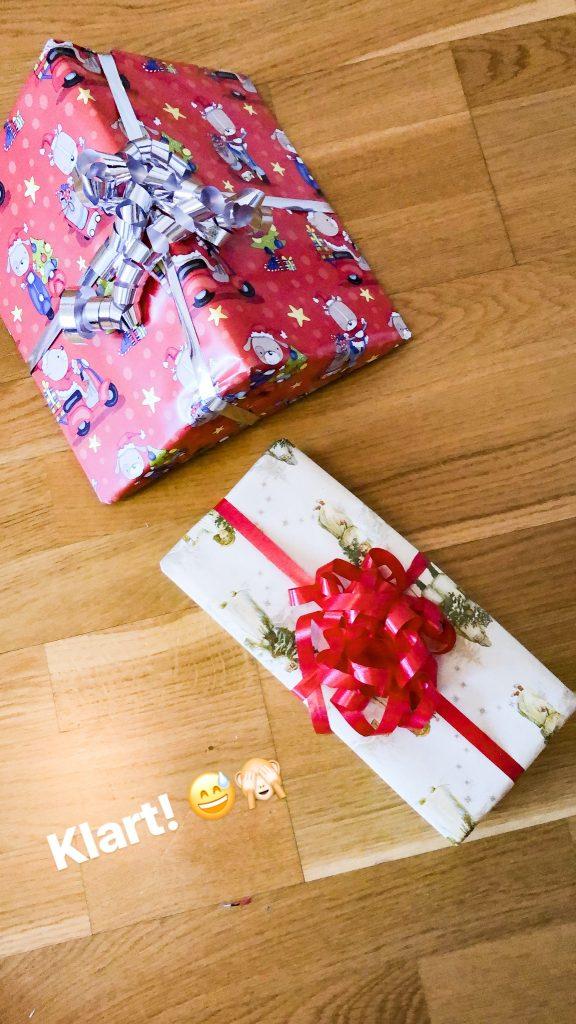 Färdiga julklappar