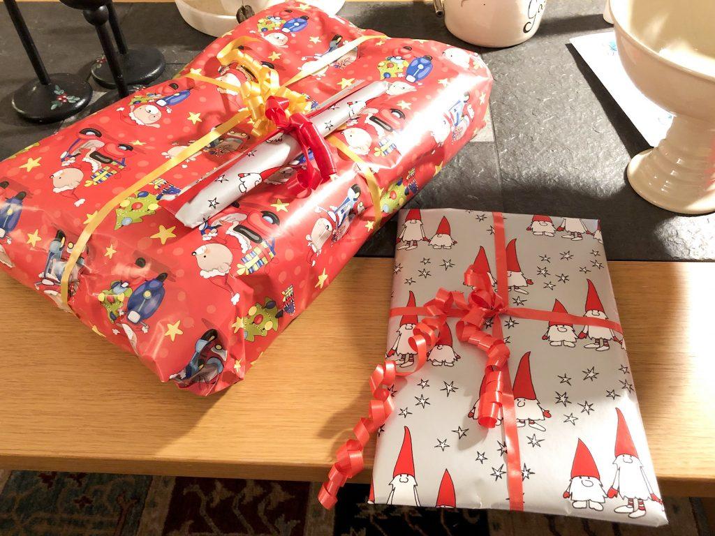 Några fler julklappar från föräldrarna