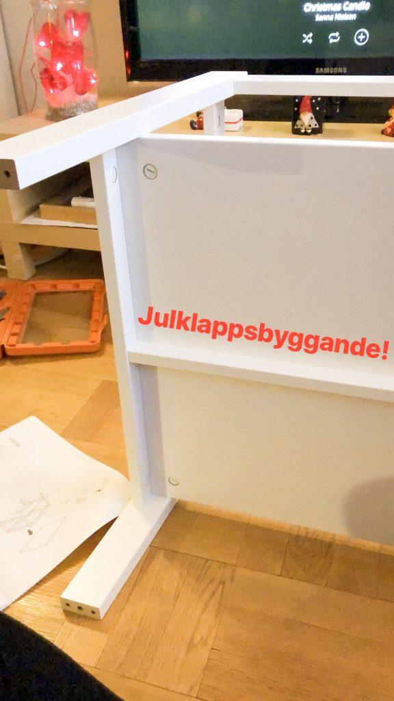 Bygga julklapp från Ikea