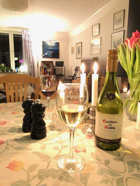 Lördagsmiddag och vin - Amoll.net