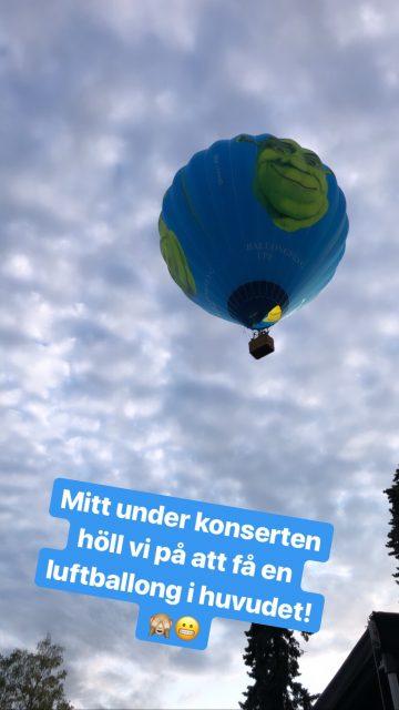 Luftballong med Shrek - Amoll.net